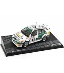 SKODA OCTAVIA WRC D. Auriol - D. Giraudet Rally Monte-Carlo 2003 - Passione Rally Collection