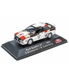 Audi Quattro A1 - 1983 S. Blomqvist / B. Cederberg - ATLAS Editions Collection