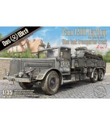 1:35 Влекач за транспорт на танкове Faun L900 Hardtop9ton Tank Transporter Truck