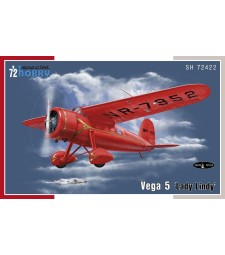 1:72 Самолет Vega 5 'Lady Lindy'