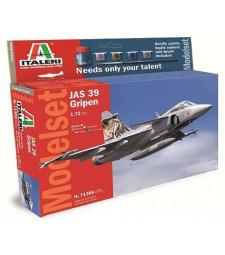 1:72 Шведски изтребител SAAB JAS 39 Gripen – Model Set