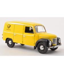 IFA FRAMO V901/2 KASTENWAGEN (VAN) 1954 Deutsche Post (yellow and Black)