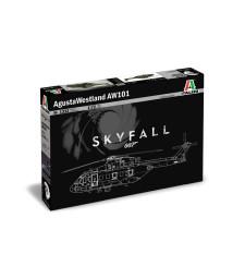 1:72 Британски военен хеликоптер AgustaWestland AW-101 ''SKYFALL'' 007 movie