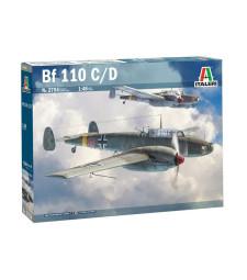 1:48 Германски изтребител MESSERSCHMITT BF-110 C/D