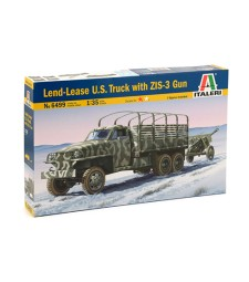 1:35 Американски камион Ленд Лийз с оръдие ЗИС-3 (LEND LEASE US truck with ZIS-3 gun)