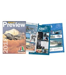 2018 Italeri Catalogue Index + 2018 Preview