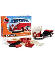 QUICKBUILD VW Camper Van - New tool - Сглобка без лепило