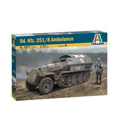 1:72 Германска военна линейка Sd.Kfz. 251/8 AMBULANCE