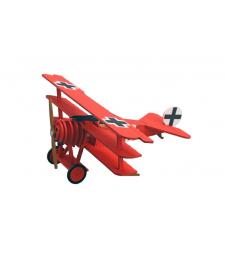 Самолет Авион Фокер Др. I (Avion Fokker DR.I) – Червения барон - Детска колекция