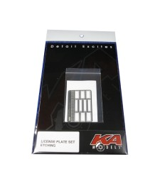 License Plate Etching Set