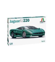1:24 Автомобил JAGUAR XJ220