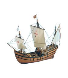 """1:65 Каравела """"Ла Пинта"""" - Модел на кораб от дърво"""