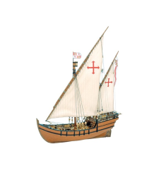 1:65 Ла Ниня (La Nina) - Модел на кораб от дърво