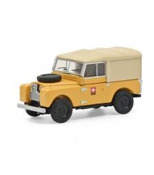 Land Rover 88 Ptt Yellow