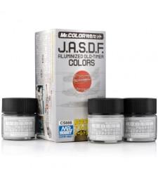 CS-666 J.A.S.D.F. Aluminized Old-Timer Color Set (3 x 10ml)