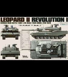 1:35 Германски основен танк Leopard II Revolution I