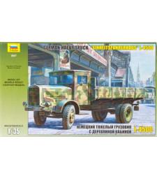 1:35 Германски военен камион  L-4500  EINHEITSKABINE