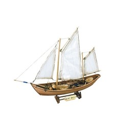 """1:20 """"Свети Мало"""" (Saint Malo) - Модел на кораб от дърво"""
