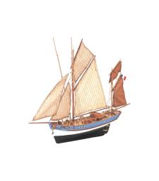 1:50 Мари-Жан - Модел на кораб от дърво