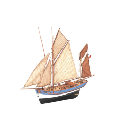 1:50 Мари-Жан (Marie-Jeanne) - Модел на кораб от дърво