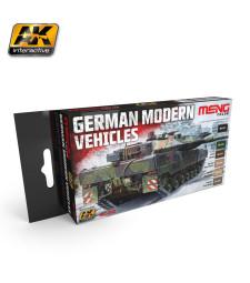 MC802 GERMAN MODERN VEHICLES COLORS SET - Комплект акрилни бои серия MENG (6 x 17 ml)