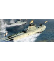 1:35 Руска торпедна лодка Navy G-5 Class Motor Torpedo Boat - Сглобяем модел