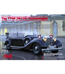 1:35 Германски автомобил Мерцедес-Бенц Тип 770К Турваген (Mercedes-Benz Typ 770K (W150) Tourenwagen)