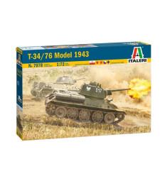 1:72 Съветски танк T-34/76 Модел 43