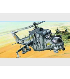 1:35 Руски хеликоптер  - Мил Ми-24  (Mil Mi-24 Hind-E)
