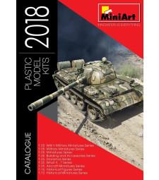 Каталог на Miniart 2018