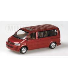 VW T5 MULTIVAN 2003 RED
