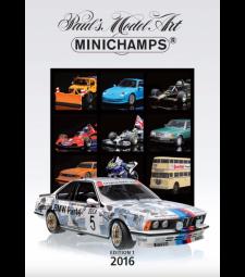 Каталог Minichamps - 2016 - Издание 1 (PMA CATALOGUE - 2016 - EDITION 1)