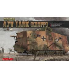 1:35 Германски тежък танк A7V (Круп) (German A7V Tank (Krupp))