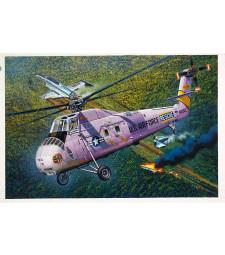 1:48 Американски хеликоптер HH-34J USAF Combat Rescue