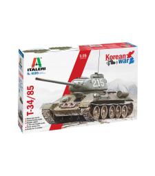 1:35 Премиум версия на танк T-34-85, от периода на Корейската война (T-34-85 PREMIUM VERSION, KOREAN WAR)