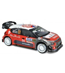 Citroen C3 WRC N°11 - Tour de Corse 2018 - S.Loeb / D.Elena