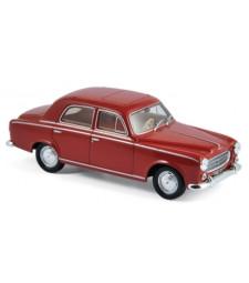 Peugeot 403 1961 Dark Red