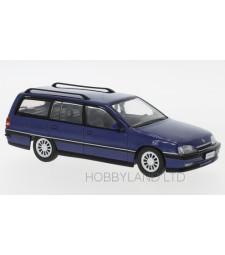 Opel Omega A2 Caravan, metallic-blue, 1990