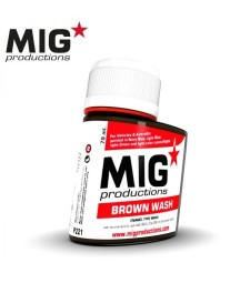 P221 Brown Wash (75 ml) - Смивка за сглобяем модел