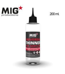 P263 Universal Thinner for Acrylics (200 ml) - Универсален разредител за акрилни бои