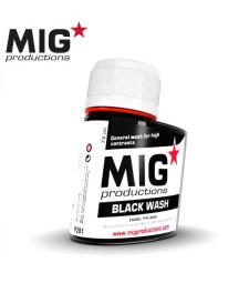 P281 Black Wash (75 ml) - Смивка за сглобяем модел