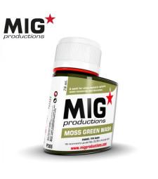 P305 Moss Green Wash (75 ml) - Смивка за сглобяем модел