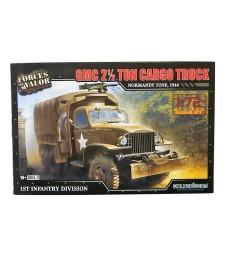 1:72 GMC 2.5 TON CARGO TRUCK MODEL KITS NORMANDY JUNE 1944