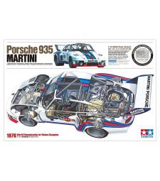 1:12 Автомобил Porsche 935 Martini