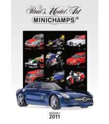 Каталог Minichamps - 2011 - Издание 1 (PMA CATALOGUE - 2011 - EDITION 1)