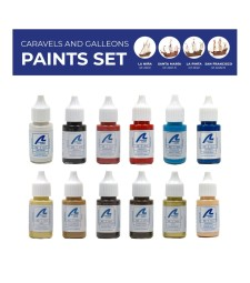 Комплект бои: Каравели и галеони - 12 x 20 ml