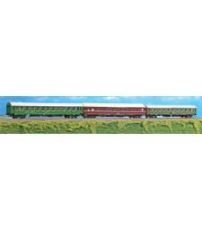 Сет от 3 пътнически вагона на Hellas Istanbul Express, епоха V