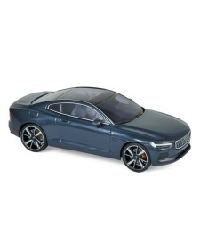 Polestar 1 2020 - Midnight blue & chrome frame & beige interior