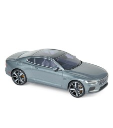 Polestar 1 2020 - Osmium Grey & chrome frame & beige interior
