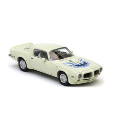 PONTIAC Firebird Trans AM White 1973